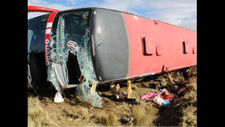 Agrupación musical sufrió accidente vehicular en Cajamarca