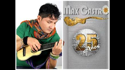 Max Castro celebra su 25 Aniversario el Parque de la Exposición