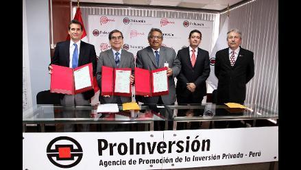 Firman contrato de gestión de servicios del Hospital del Niño
