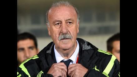 Del Bosque deja entrever que dejará selección española tras Eurocopa 2016