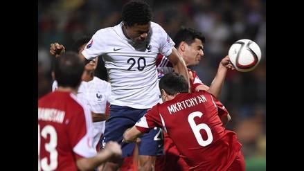 Francia se paseó y goleó 3-0 a Armenia en un amistoso internacional