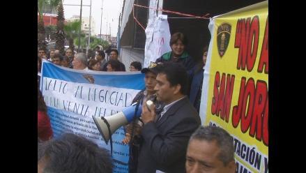 Trabajadores exigen se deje sin efecto cierre de penal San Jorge