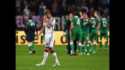 Euro 2016: Alemania se dejó empatar al último minuto por Irlanda