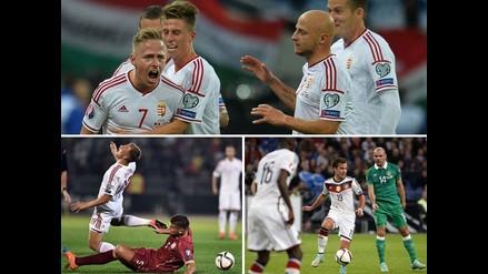 Eurocopa 2016: Todos los resultados de la jornada de Eliminatorias