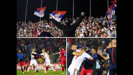 Eurocopa 2016: ¿Por qué el Serbia-Albania terminó en descomunal pelea?