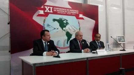 Arequipa: concluye conferencia internacional de Ministros de Defensa