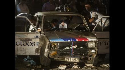 Más de diez heridos tras explosión de bomba artesanal en El Cairo