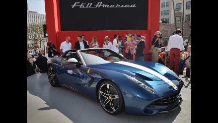 Ferrari celebró su 60 aniversario en Estados Unidos