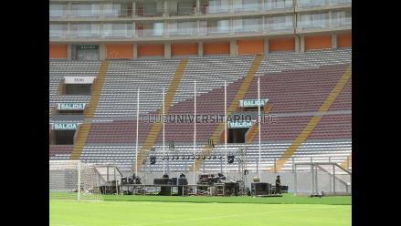 Sunat rematará 73 palcos del Estadio Monumental