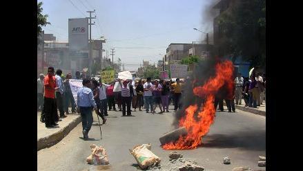 Pobladores de Buenavista bloquearon carretera por resultados electorales