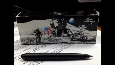 Descubre el Fisher Space Pen, el lapicero que usan los astronautas