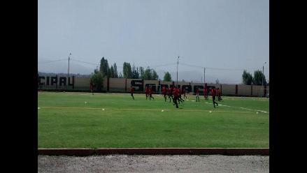 Arequipa: FBC Melgar completó su segundo día de entrenamiento