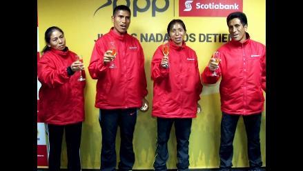 Ganadores del Maratón RPP-Scotiabank viajan para competir en Toronto