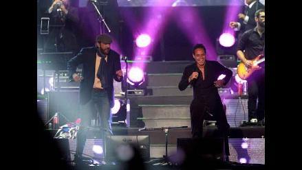 Una noche de Gigante2: Marc Anthony y Juan Luis Guerra en concierto