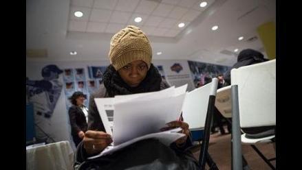 Solicitudes del subsidio de desempleo en EEUU caen