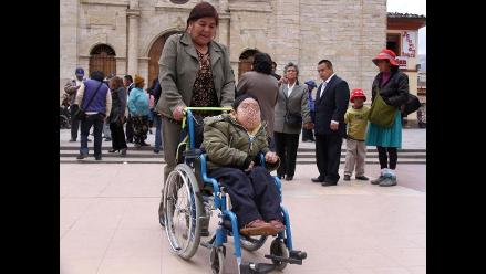 Huancayo: solo el 7 % de discapacitados tiene certificación del Conadis