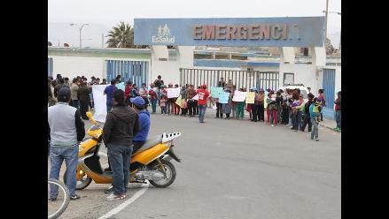 Ica: población de Marcona protesta por traslado de hospital