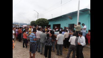Piura: pobladores se oponen a reelección de alcalde en Las Lomas