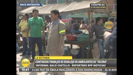 Ambulantes de Tacora no son empadronados para ser reubicados