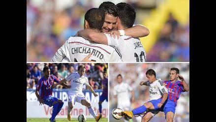 Revive el show de Cristiano Ronaldo en el 5-0 de Real Madrid a Levante
