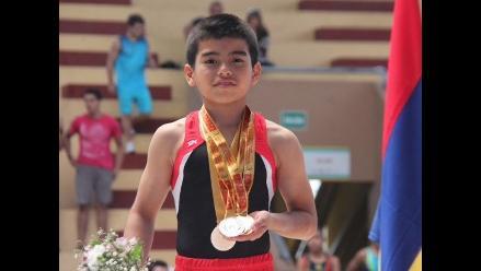 Equipo peruano campeona en Sudamericano de gimnasia artística infantil