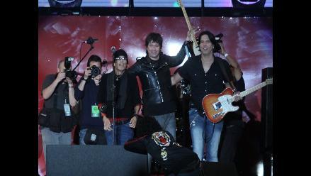 Los Rabanes pusieron su ´style´ en concierto de Pedro Suárez-Vertíz