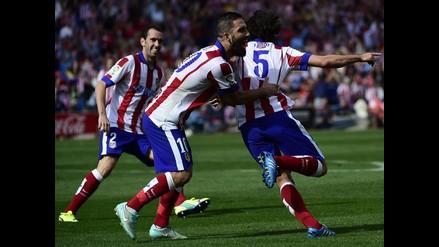 Atlético Madrid convence superando 2-0 a Espanyol por la Liga española