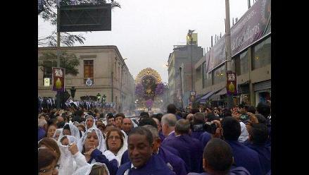 Señor de los Milagros: desvío de calles por tercera salida procesional