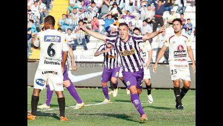 Alianza Lima derrotó 2-0 a León de Huánuco y se pone a un punto de Melgar