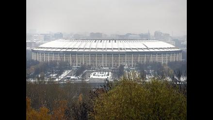 Rusia 2018: FIFA avala buen avance de las obras del estadio Luzhnikí
