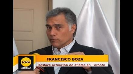 Francisco Boza destaca actuación de atletas tras consagrarse en Toronto