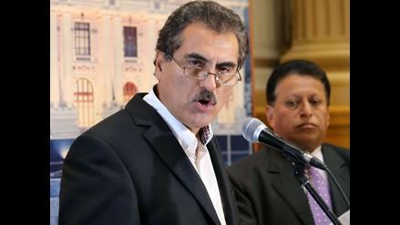 Archivan acusación constitucional contra Julio Gagó