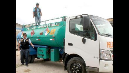 Arequipa: capturan a delincuentes que intentaron robar cisterna de municipio