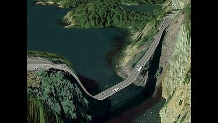 Imágenes distorsionadas de Google Earth contradicen al sentido común