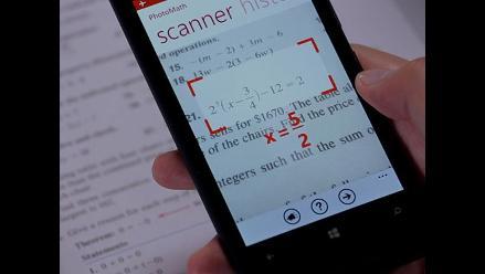 PhotoMath, la app que resuelve problemas de matemáticas