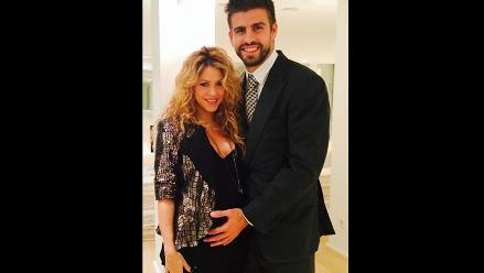 Shakira luce su embarazo junto a Gerard Piqué