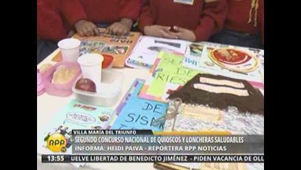 Premian a 26 colegios por promover alimentación saludable