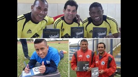 Futbolistas peruanos votan por el mejor once del Mundo de la FIFPro