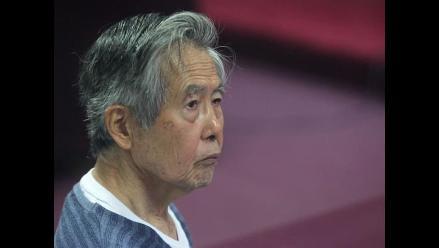 Alberto Fujimori fue dado de alta de la clínica y regresó a la Diroes