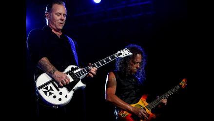 Reeditan documental de Metallica