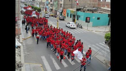 Chiclayo: Pronabec realiza pasacalle pro inclusión social