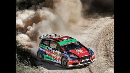 Nicolás Fuchs abandonó segundo día de competencia en Rally de España