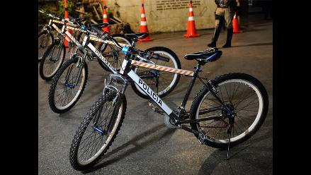 PNP patrullará Gamarra y Av. Aviación en bicicleta y pondrá papeletas