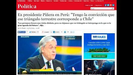 Así informan en el extranjero sobre declaraciones de Sebastián Piñera