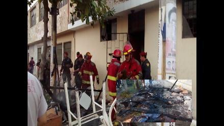 Chiclayo: bebe de 4 meses muere en incendio