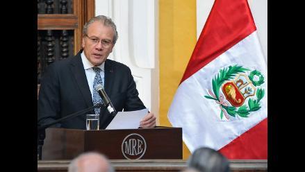 Perú ve indiscutible su soberanía en triángulo terrestre