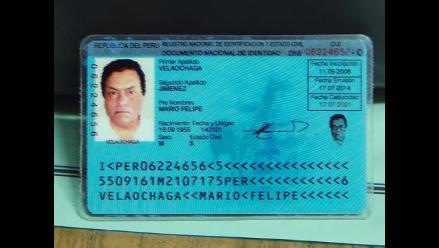 Mario Felipe Velaochaga Jiménez, la identidad falsa del ´Sheriff´