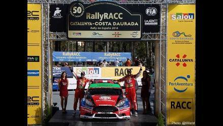 Nicolás Fuchs se adjudica el quinto puesto del WRC2 en el Rally España