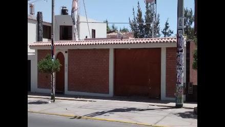 Arequipa: vivienda donde estuvo Benedicto Jiménez se encuentra inhabitada