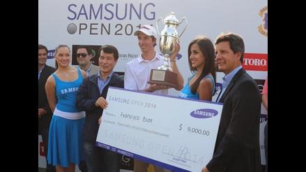 Golf Open Samsung 2014 llegó a su fin con triunfo de Francisco Bide